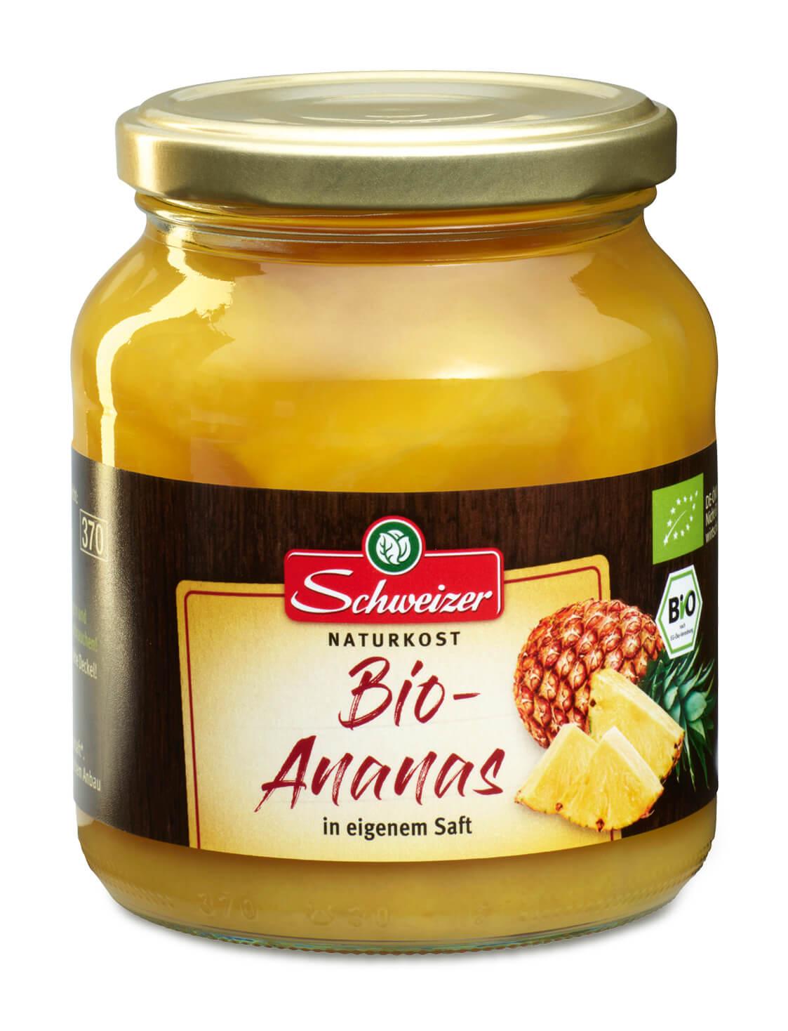 Bio Ananas 370 ml