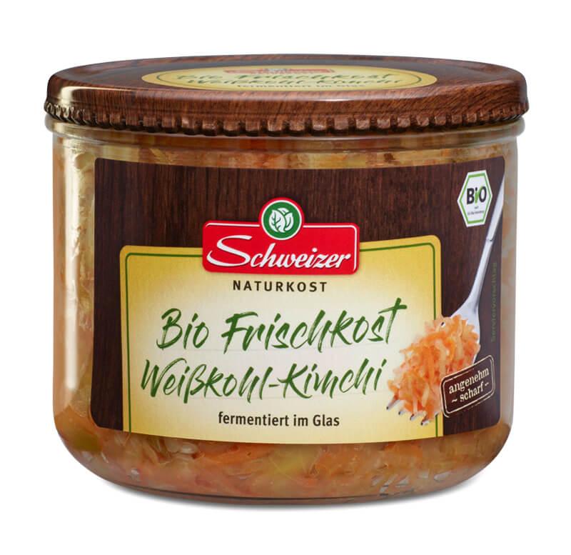 Bio Frischkost Weißkohl-Kimchi 410g