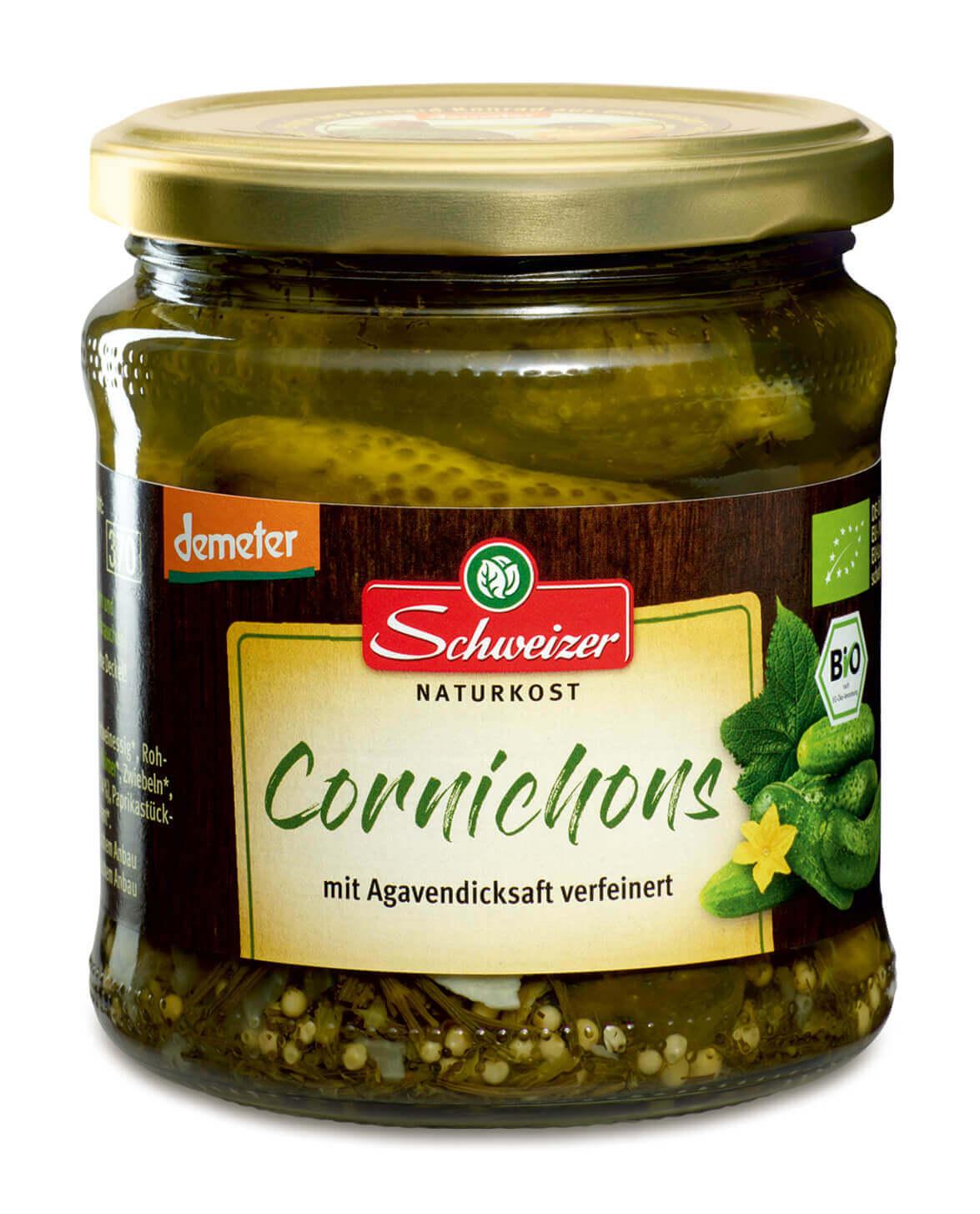 Demeter Cornichons 370 ml