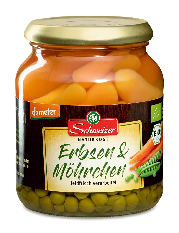 Demeter Erbsen & Möhrchen 370 ml