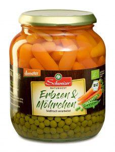 Demeter Erbsen & Möhrchen 720 ml