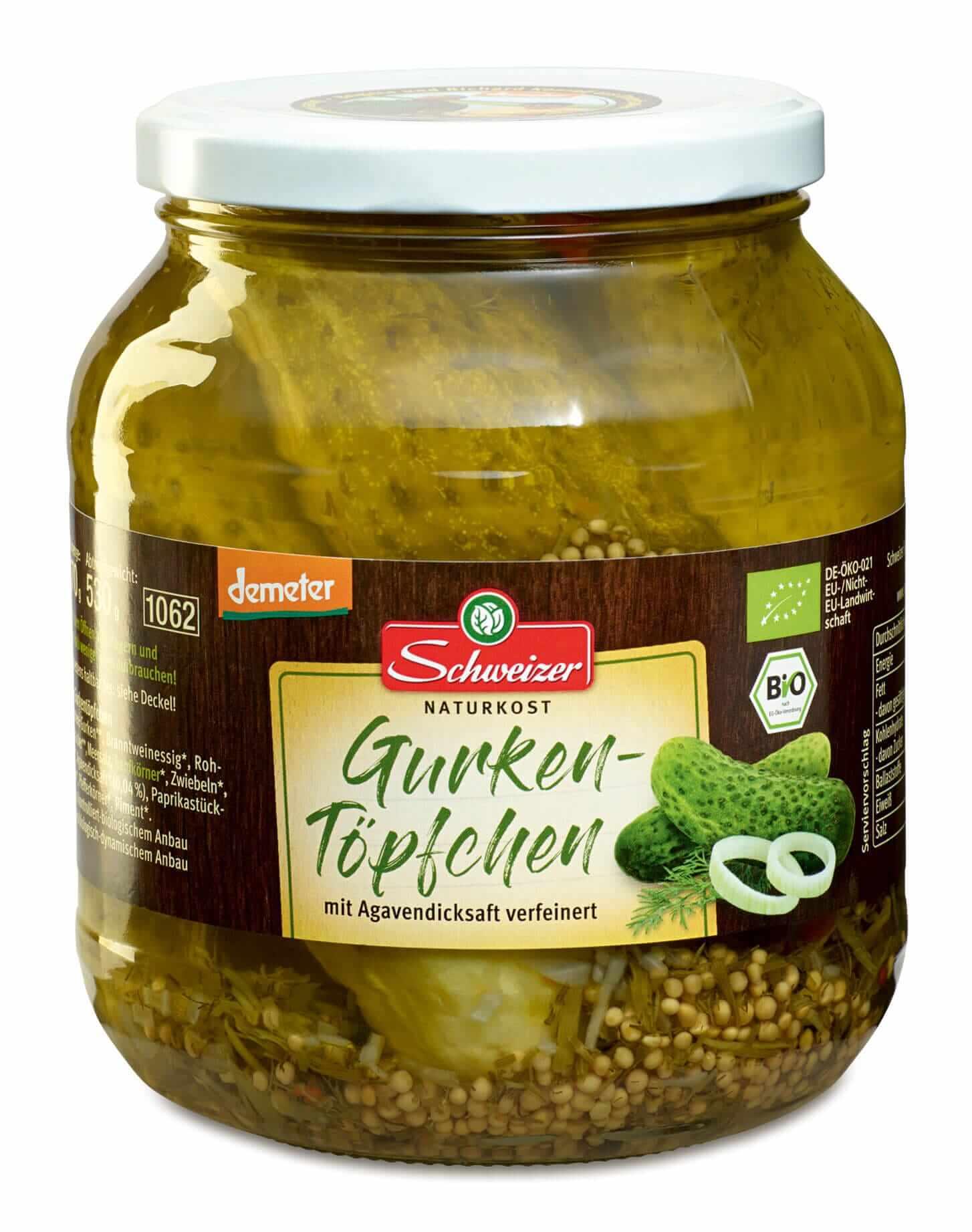 Demeter Gurkentöpfchen 1.062 ml