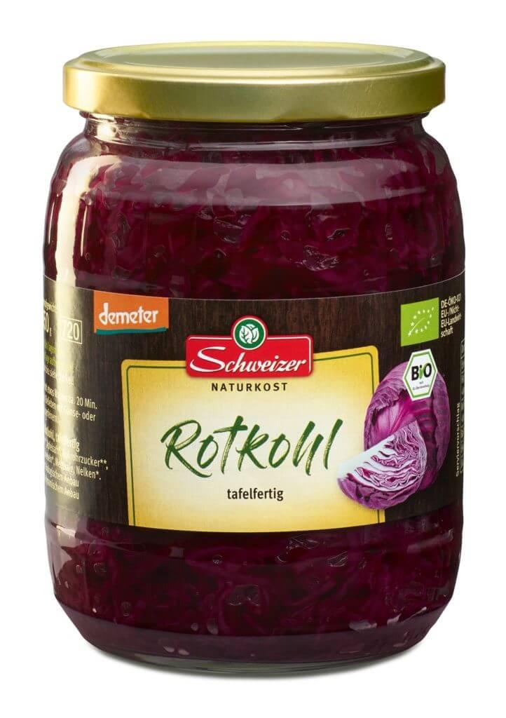 Demeter Rotkohl 720 ml