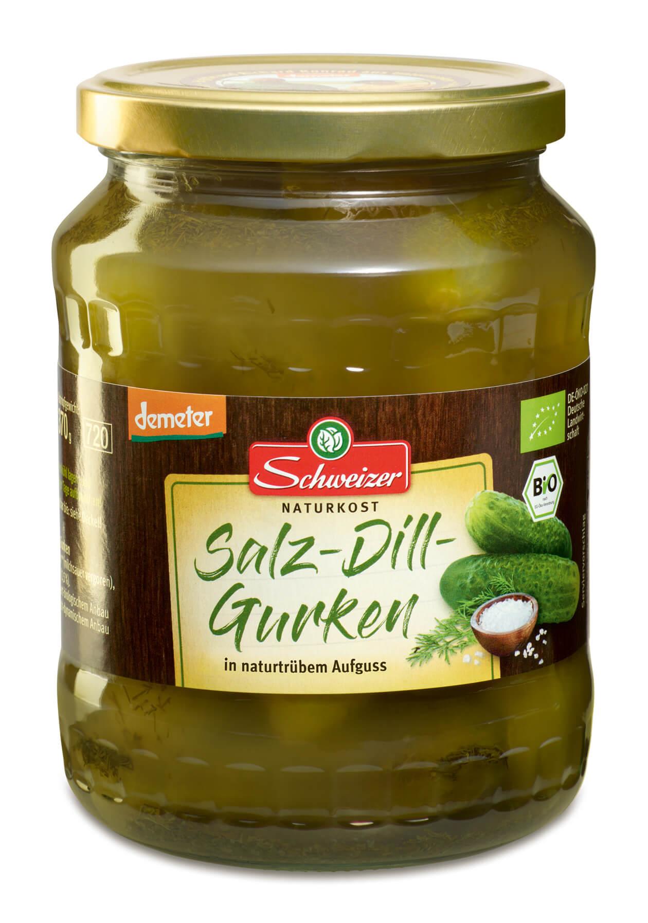 Demeter Salz-Dill-Gurken 720 ml