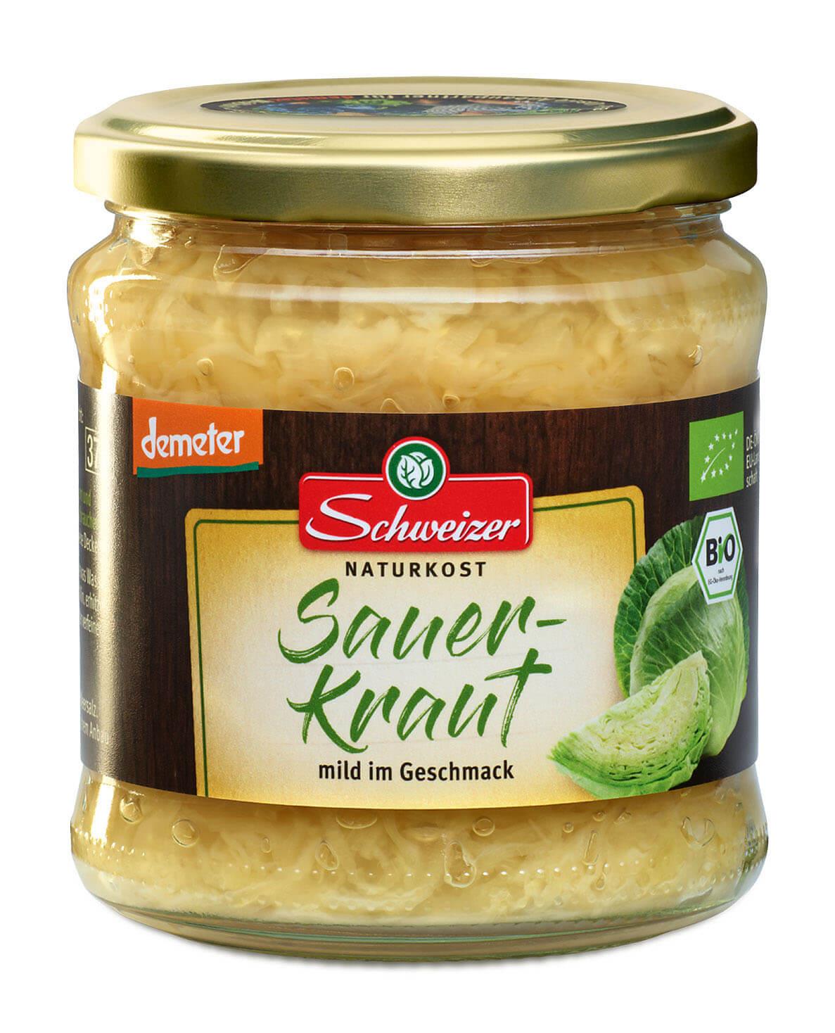 Demeter Sauerkraut 370 ml