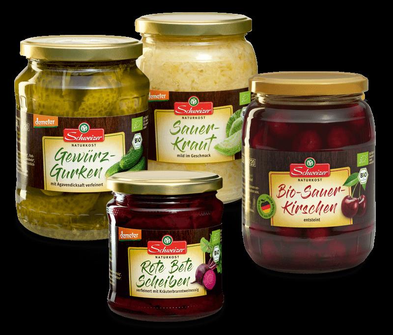 Schweizer Naturkost Produkte